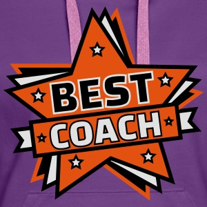 BEST COACH Tee shirts - Sweat-shirt à capuche Premium pour femmes