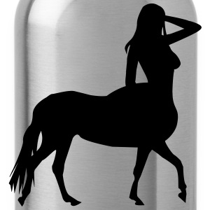Vrouw op Paard T-shirts - Drinkfles