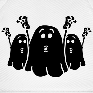 Team 3 cheeky little scary ghost T-Shirts - Baseball Cap