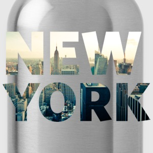 new york Tops - Trinkflasche