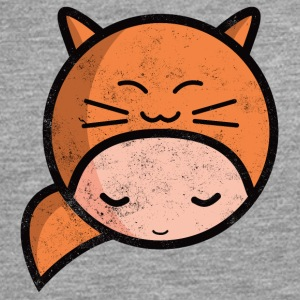 kawaii sarah happy cat worn out Hoodies & Sweatshirts - Men's Premium Longsleeve Shirt