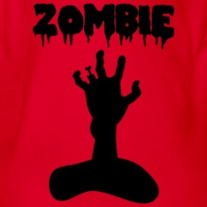 Zombie Shirts - Organic Short-sleeved Baby Bodysuit