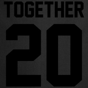 Together 20 Tee shirts - Tablier de cuisine
