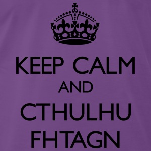 Keep Calm and Cthulhu Fhtagn - Men's Premium T-Shirt