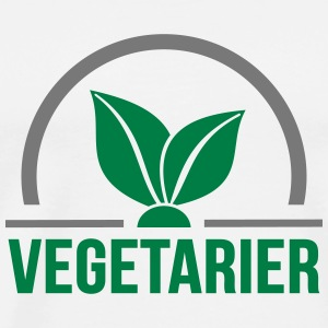 Vegetarian Tank Tops - Men's Premium T-Shirt
