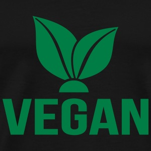 Vegan Hoodies & Sweatshirts - Men's Premium T-Shirt