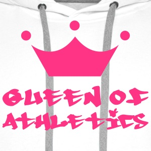 Queen of Athletics Koszulki - Bluza męska Premium z kapturem