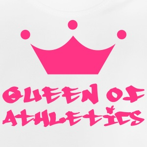 Queen of Athletics T-shirts - Baby-T-shirt