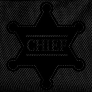 Chief Sheriff Star, Wild West America, Chef, Boss T-Shirts - Kids' Backpack