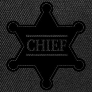 Chief Sheriff Star, Wild West America, Chef, Boss T-shirts - Snapbackkeps