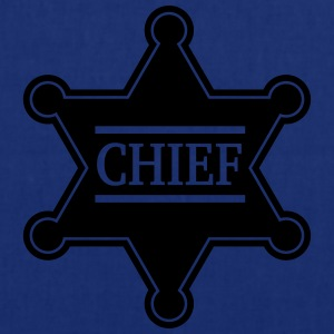 Chief Sheriff Star, Wild West America, Chef, Boss Gensere - Stoffveske