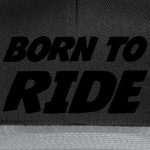 Born to Ride Sweaters - Snapback cap