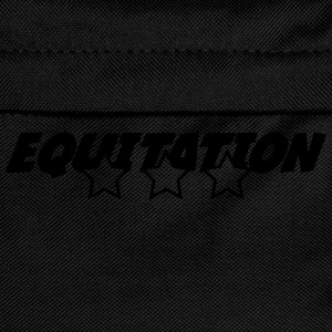 Equitation T-Shirts - Kids' Backpack
