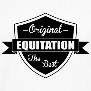 Equitation Tee shirts - T-shirt manches longues Premium Homme