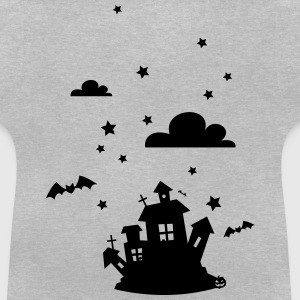 Halloween House with bats Shirts - Baby T-Shirt