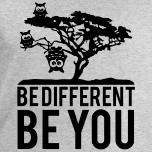 OWL upside down tree hanging be different you T-Shirts - Men's Sweatshirt by Stanley & Stella