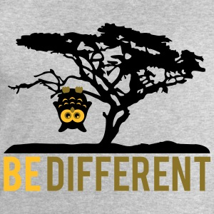 OWL upside down tree hanging be different T-Shirts - Men's Sweatshirt by Stanley & Stella