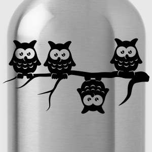 Be different 4 owls Abdulazeez differ T-Shirts - Water Bottle