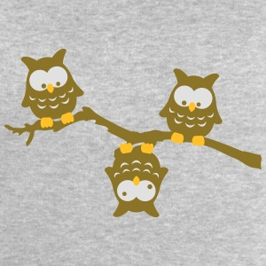 Branch Owl Funny crazy upside down owl T-Shirts - Men's Sweatshirt by Stanley & Stella