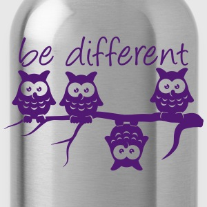 Abdulazeez be different 4 owls differ T-Shirts - Water Bottle
