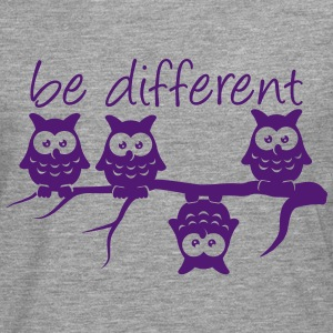 Abdulazeez be different 4 owls differ T-Shirts - Men's Premium Longsleeve Shirt