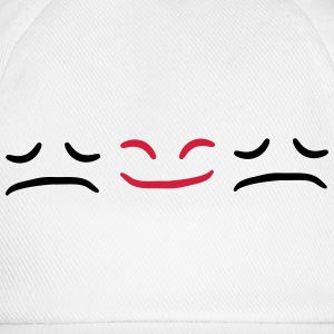 Happy Face Sad different Be Different T-Shirts - Baseball Cap