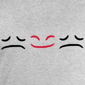 Happy Face Sad different Be Different T-Shirts - Men's Sweatshirt by Stanley & Stella