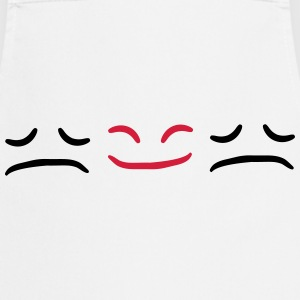 Happy Face Sad different Be Different T-Shirts - Cooking Apron