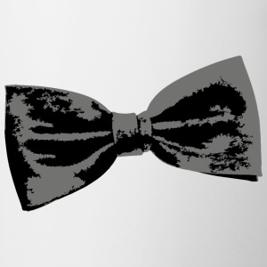 Bow Tie (Left) Dinner Jacket suit design Camisetas - Taza