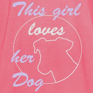 Girl Loves Dog Bags & Backpacks - Women's Tank Top by Bella