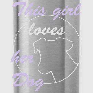 Girl Loves Dog Bags & Backpacks - Water Bottle