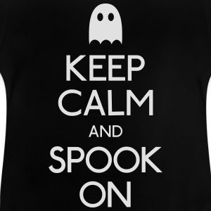keep calm spook mantener calma fantasma Camisetas - Camiseta bebé