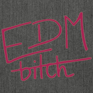 EDM b*tch_purple Tops - Schultertasche aus Recycling-Material
