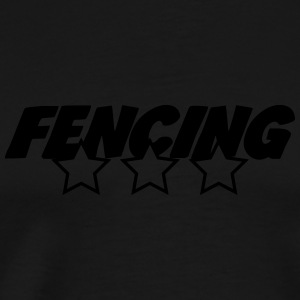 Fencing Sweaters - Mannen Premium T-shirt