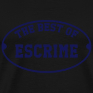 The Best of Escrime Tröjor - Premium-T-shirt herr
