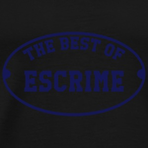 The Best of Escrime Kopper & flasker - Premium T-skjorte for menn