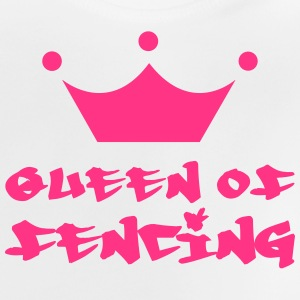 Queen of fencing T-shirts - Baby-T-shirt