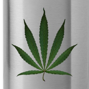 HEMP LEAF 1 Cap - Water Bottle