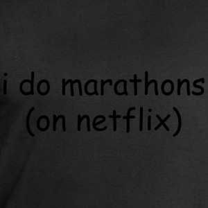 I do marathons (on Netflix) T-shirts - Sweatshirt herr från Stanley & Stella
