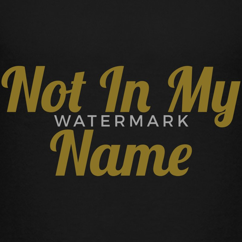 Not In My Name Shirts - Teenage Premium T-Shirt
