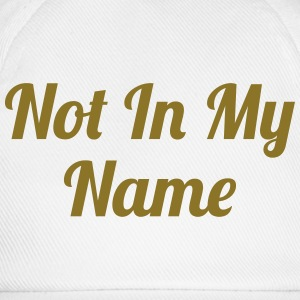 Not In My Name Sweats - Casquette classique