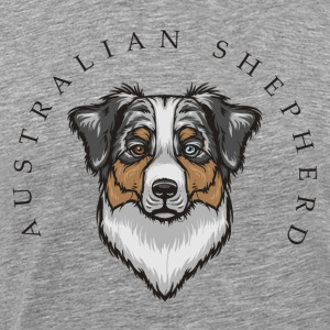 Australian Shepherd Long Sleeve Shirts - Men's Premium T-Shirt
