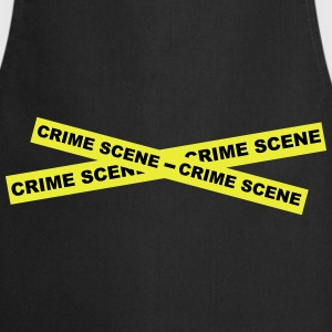 Crime Scene Tape T-Shirts - Cooking Apron