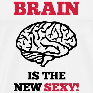 Sexy Brain Hoodies - Men's Premium T-Shirt