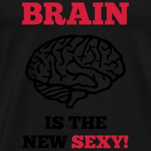 Sexy Brain Tops - Men's Premium T-Shirt