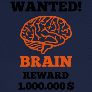 Brain - Wanted Shirts - Baseball Cap