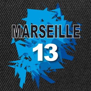 Marseille 13 Tee shirts - Casquette snapback