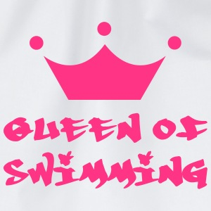 Queen of Swimming T-shirts - Gymnastikpåse