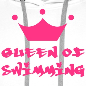 Queen of Swimming T-shirts - Premiumluvtröja herr