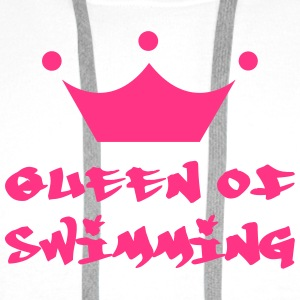 Queen of Swimming Shirts - Men's Premium Hoodie